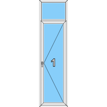 Балконная дверь Brusbox Super Aero Тип 0005
