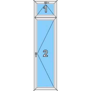 Балконная дверь Brusbox Super Aero Тип 0009