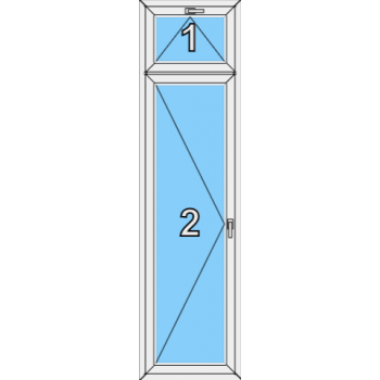 Балконная дверь Brusbox Super Aero Тип 0010