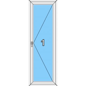 Балконная дверь Brusbox 70-6 Тип 0001