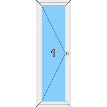 Балконная дверь Brusbox 70-6 Тип 0002