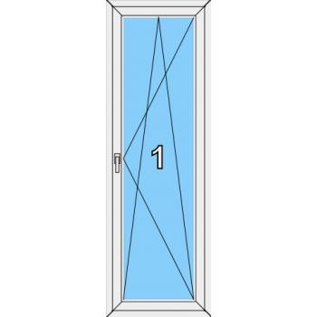 Балконная дверь Brusbox 70-6 Тип 0003