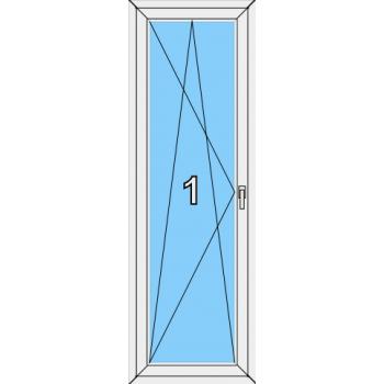 Балконная дверь Brusbox 70-6 Тип 0004