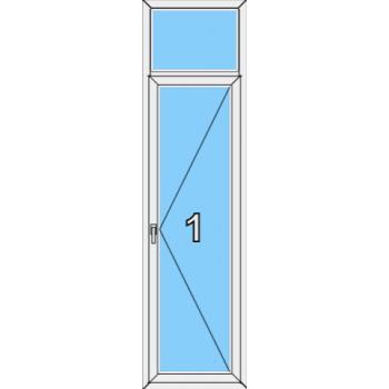 Балконная дверь Brusbox 70-6 Тип 0005