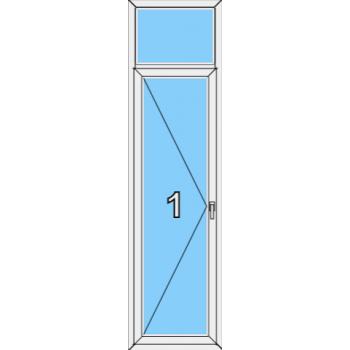 Балконная дверь Brusbox 70-6 Тип 0006