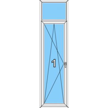 Балконная дверь Brusbox 70-6 Тип 0008