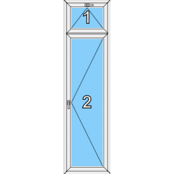 Балконная дверь Brusbox 70-6 Тип 0009