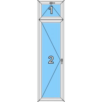Балконная дверь Brusbox 70-6 Тип 0010