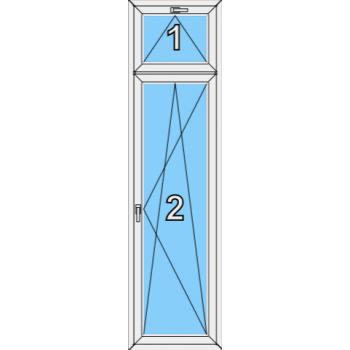 Балконная дверь Brusbox 70-6 Тип 0011