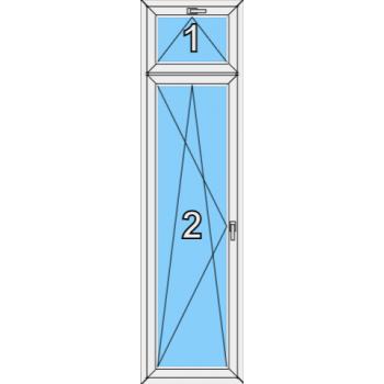 Балконная дверь Brusbox 70-6 Тип 0012