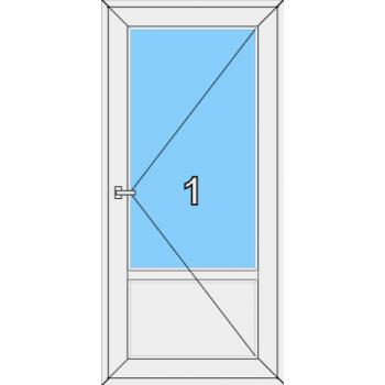 Входная дверь Rehau 60 мм Тип 0001