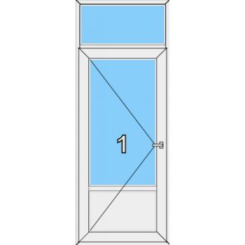 Входная дверь Rehau 60 мм Тип 0006