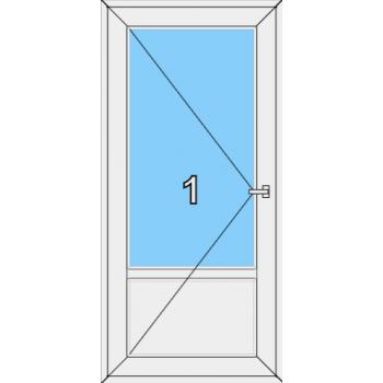 Входная дверь Rehau 70 мм Тип 0002