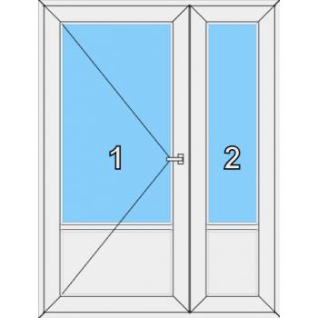 Входная дверь Rehau 70 мм Тип 0004