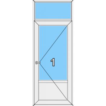 Входная дверь Rehau 70 мм Тип 0005