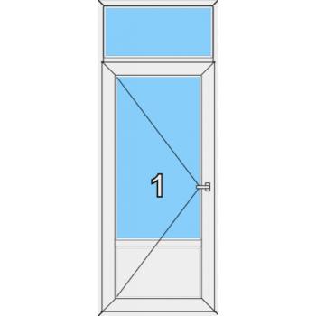 Входная дверь Rehau 70 мм Тип 0006