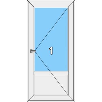 Входная дверь Brusbox 60 мм Тип 0001