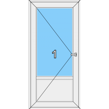 Входная дверь Brusbox 60 мм Тип 0002