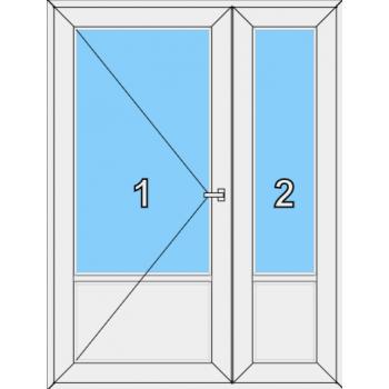 Входная дверь Brusbox 60 мм Тип 0004