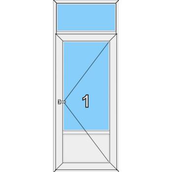 Входная дверь Brusbox 60 мм Тип 0005