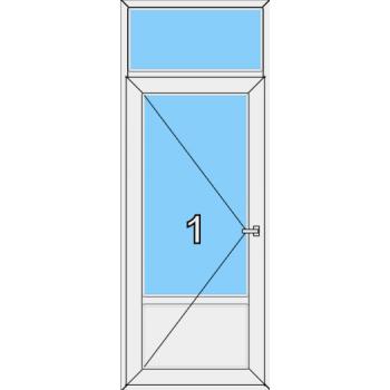 Входная дверь Brusbox 60 мм Тип 0006