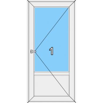 Входная дверь Brusbox 70 мм Тип 0001