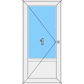 Входная дверь Brusbox 70 мм Тип 0002