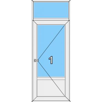 Входная дверь Brusbox 70 мм Тип 0005
