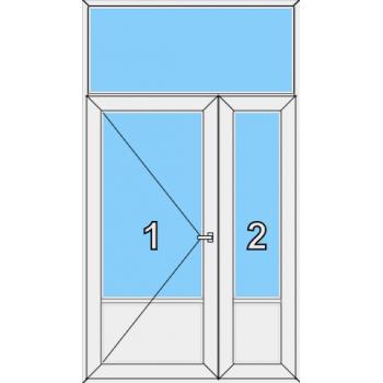 Входная дверь Brusbox 70 мм Тип 0008