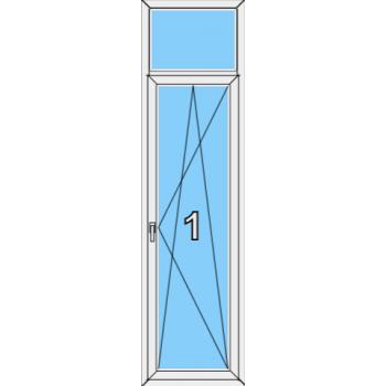 Балконная дверь Rehau Blitz Тип 0007